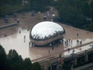 "The ""Bean"" at 11:37 AM today."